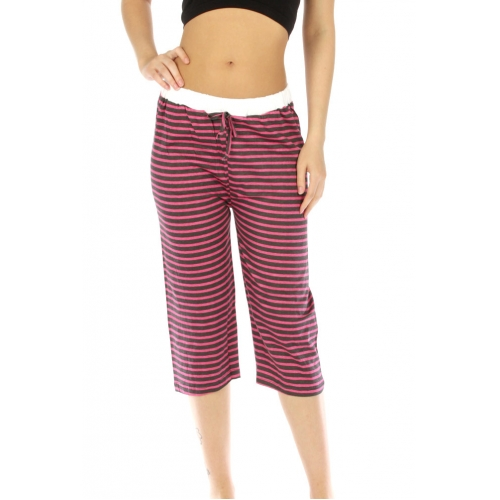 wholesale G36 Stripe cotton capri pajama fashionunic