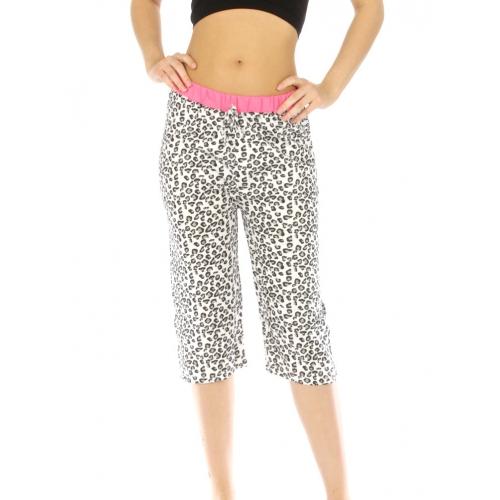 wholesale G36 Leopard cotton capri pajama fashionunic