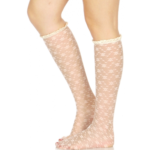 wholesaleH50 Lace knee high socks MT fashionunic