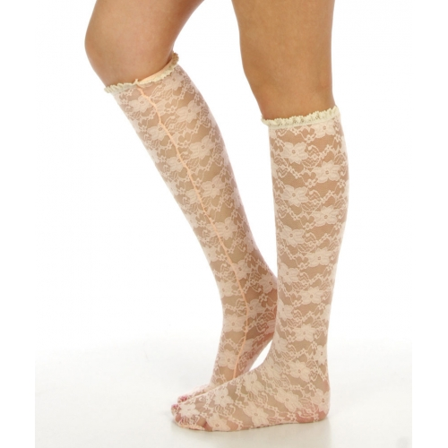 wholesaleI17 Floral lace knee high socks MT fashionunic