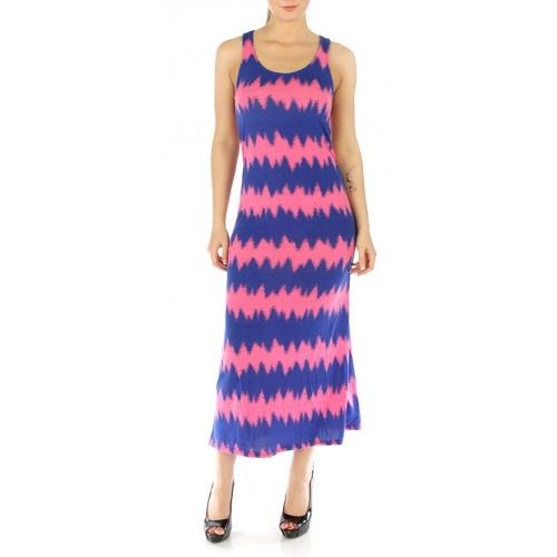 wholesale M21 Two-tone racerback dress Turquoise S