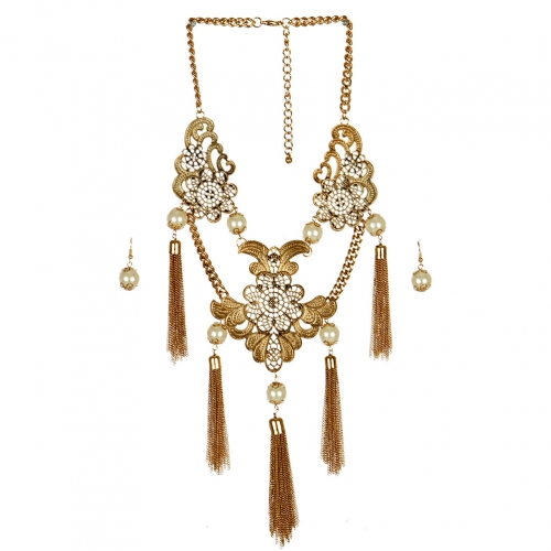 wholesale N42 Kaleidoscope necklace set AG fashionunic