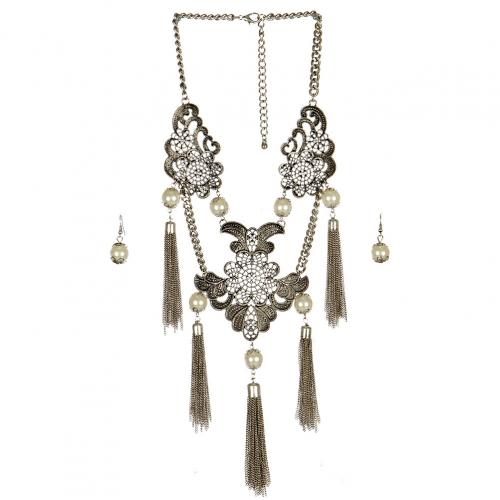 wholesale N42 Kaleidoscope necklace set SB fashionunic