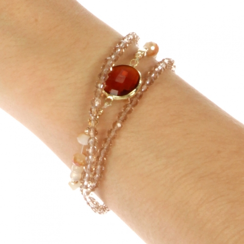 wholesale N30 Bead bracelet Red fashionunic fashionunic