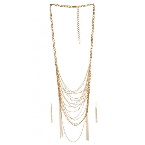 wholesale N40 Multi strand necklace set GDNT fashionunic