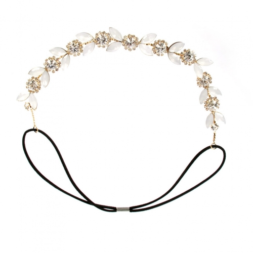 wholesale N40 Floral stone headband GC fashionunic