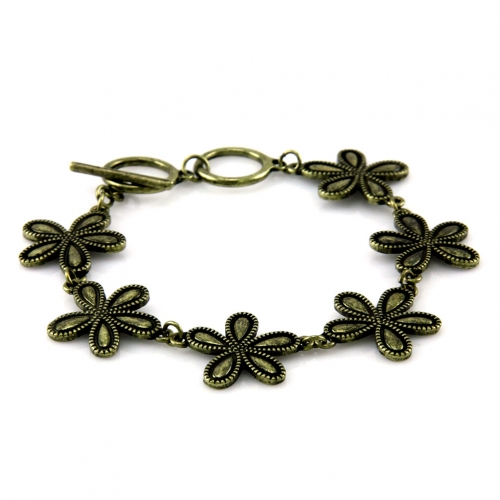 wholesale N36 Floral bracelet GB fashionunic
