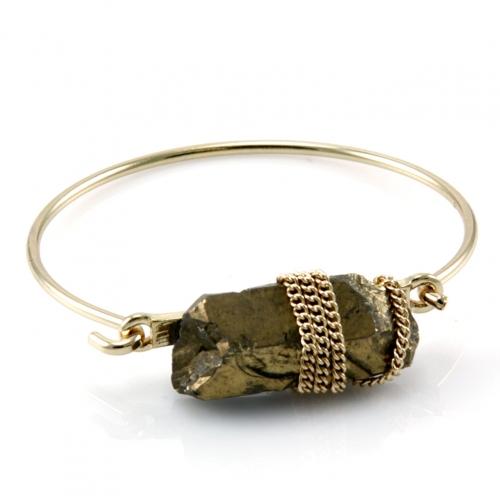 wholesale N38 Stone accent bangle GDGD fashionunic