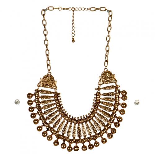 wholesale N31 Tribal collar necklace set AG fashionunic