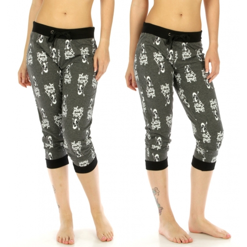 wholesale Betty Boop cotton-blend capri Jogger 128 H.CH