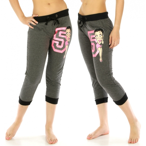 wholesale Betty Boop cotton-blend capri jogger 130 CH