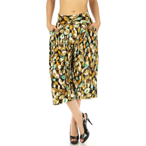 wholesale C26 Abstract capri palazzo pants Tree