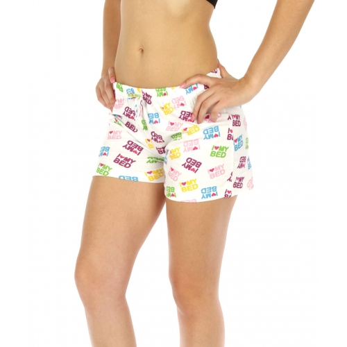 wholesale K77 Printed cotton pajama shorts Letters