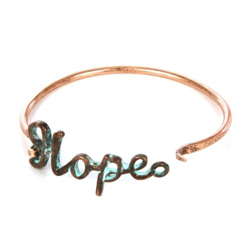 Wholesale L22 Hope metal bracelet OG fashionunic