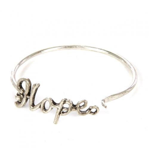 Wholesale L22 Hope metal bracelet SB fashionunic