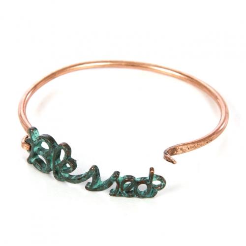 Wholesale L22 Blessed metal bracelet OG fashionunic
