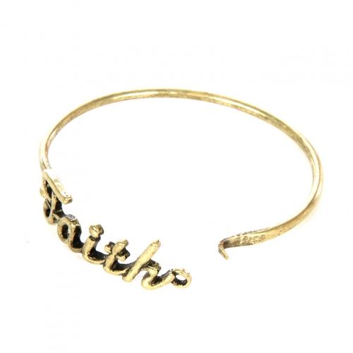 Wholesale L22 Faith metal bracelet GB fashionunic