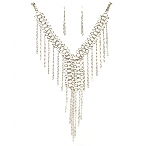 Wholesale L26 Metal links and chain necklace set R