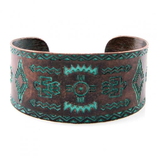 Wholesale L24 Tribal bird metal cuff OG fashionunic