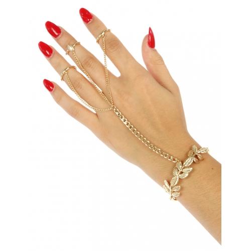Wholesale L21 Metal branch rings to bracelet G