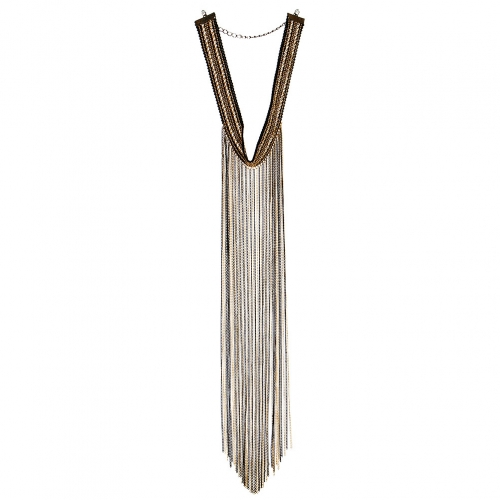 Wholesale L29 Choker chain drop necklace BMU fashionunic