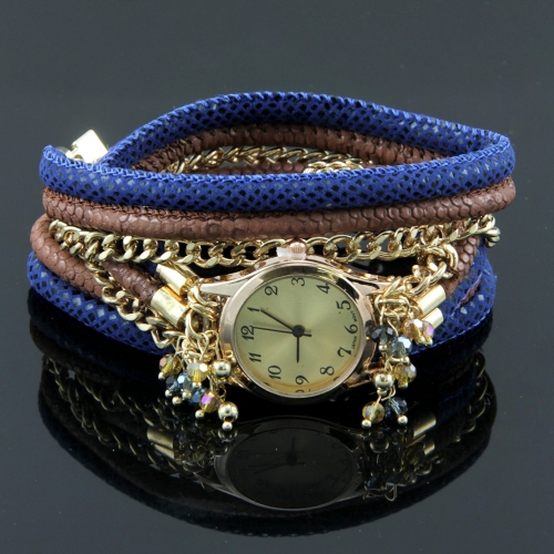 Wholesale L34D Chains and beads watch bracelet