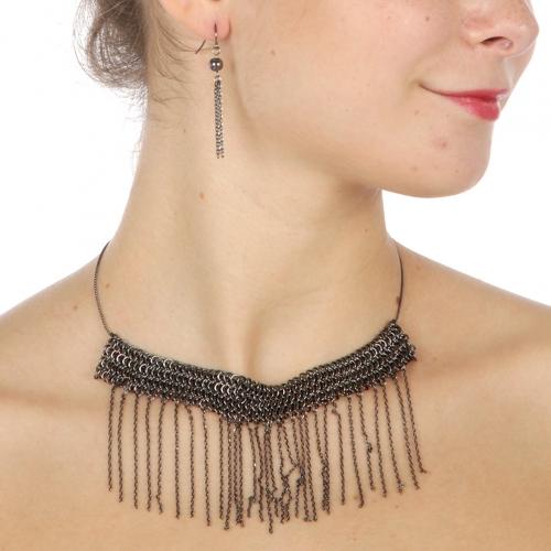 Wholesale L37E Metal chains necklace set HT fashionunic