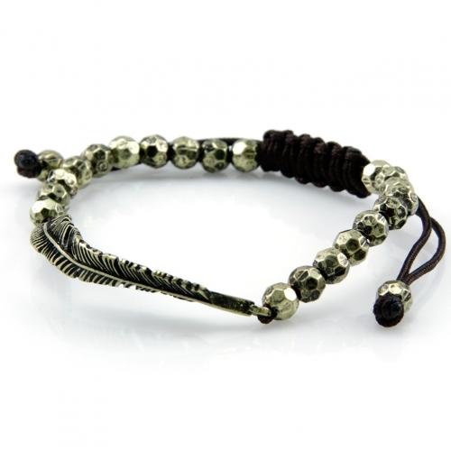 Wholesale L28E Metal beaded bracelet GB fashionunic