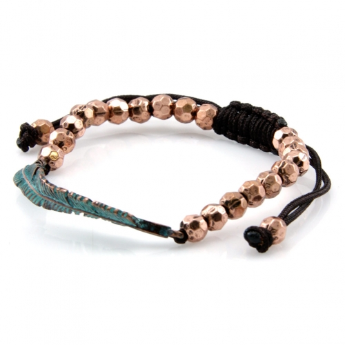 Wholesale L28E Metal beaded bracelet OG fashionunic