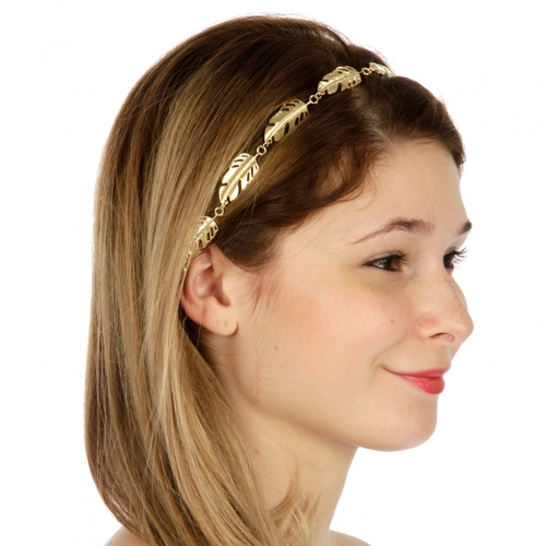 wholesale Cutout leaves head piece GD fashionunic