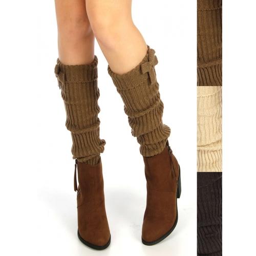 wholesale Ribbed leg warmer with bow Dozen fashionunic