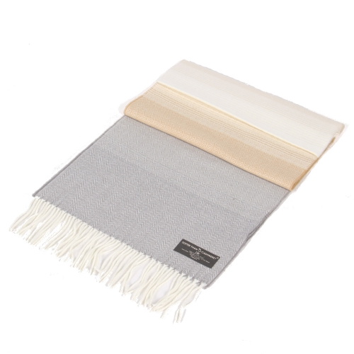 Wholesale Ombre cashmere feel scarf Neutral