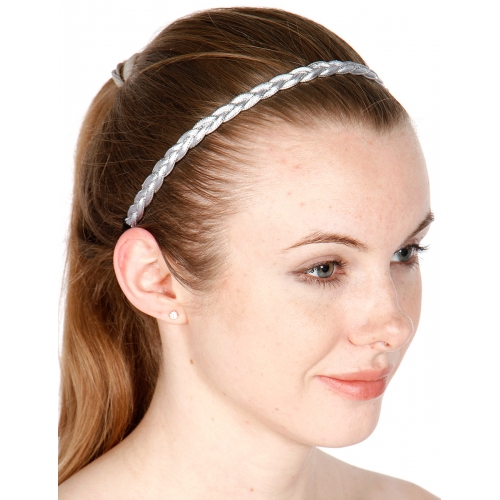 wholesale Sequin and metallic accent headband fashionunic