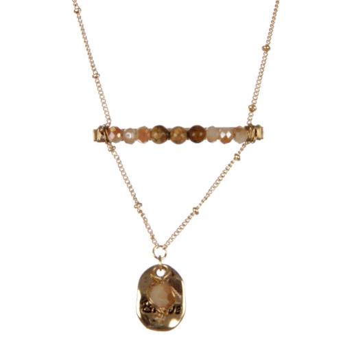 wholesale Be Brave pendant necklace set GNT