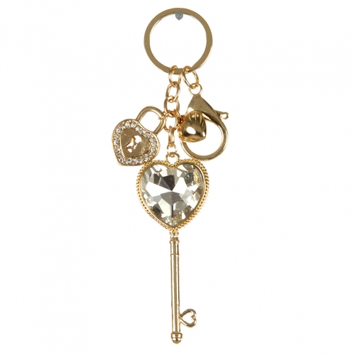 wholesale Heart key and lock keychain G fashionunic