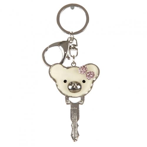 wholesale Teddy bear key keychain fashionunic