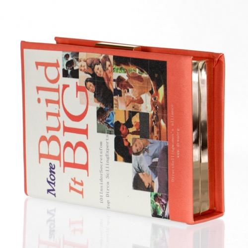 wholesale Build it Big book clutch bag fashionunic