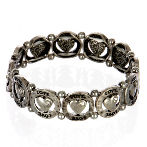 wholesale Heart love metal bracelet SB