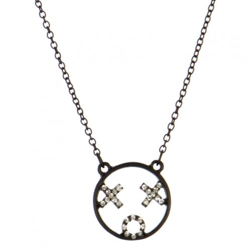 wholesale XOX emoji pendant necklace MBCR fashionunic
