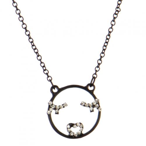 wholesale Flirty emoji pendant necklace MBCR fashionunic