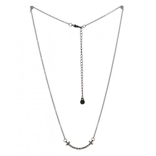 wholesale Studded smile pendant necklace MBCR fashionunic