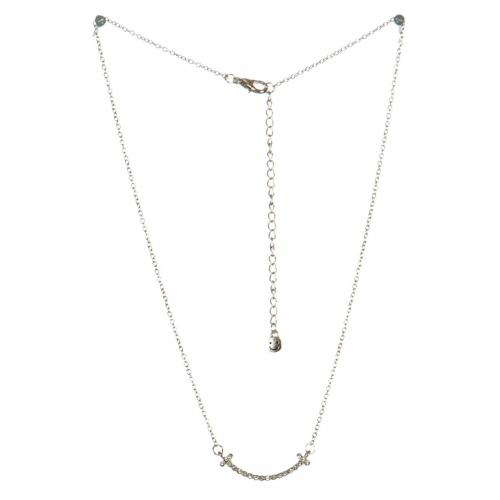 wholesale Studded smile pendant necklace RHCR fashionunic
