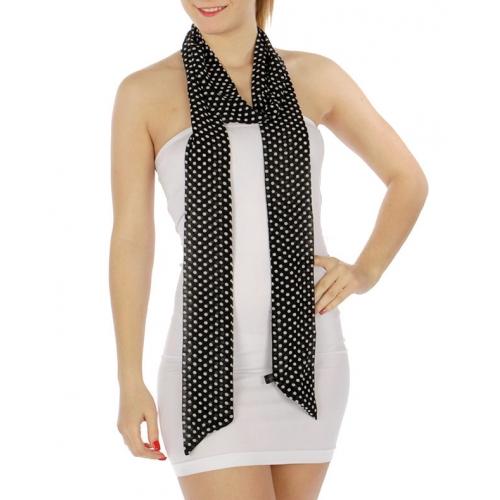 wholesale Polka dot sash scarf BK fashionunic