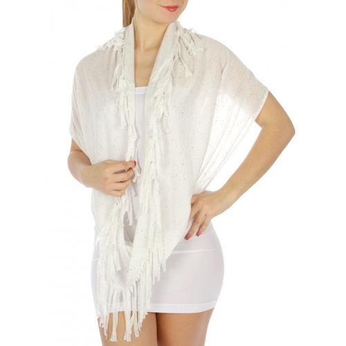 wholesale Specks on fringed infinity scarf IV fashionunic