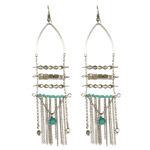 Wholesale L31C Beaded tassel earrings SB
