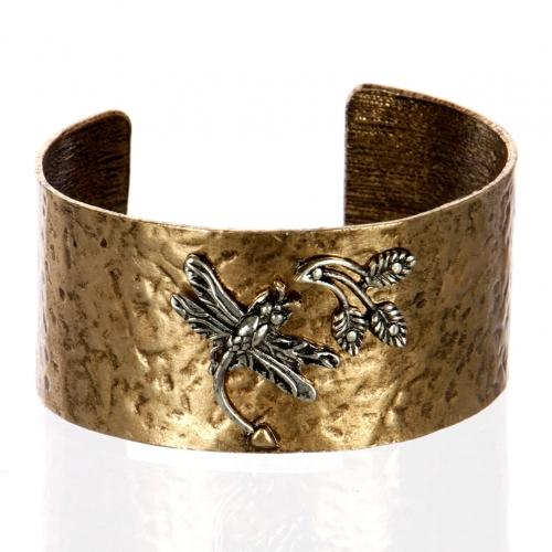 Wholesale L26B Dragonfly cuff bracelet RGB