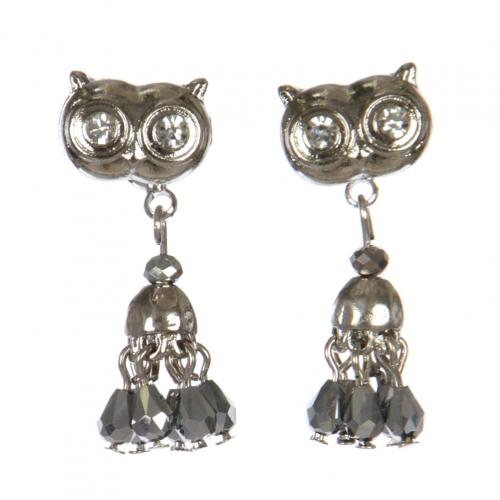 Wholesale L30C Owl earrings RH