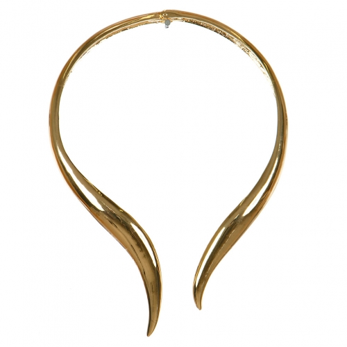 Wholesale L03C Hinged collar necklace GD