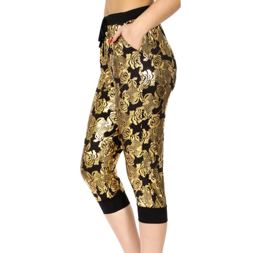 Wholesale E11A Jogger capri pants Rose GL