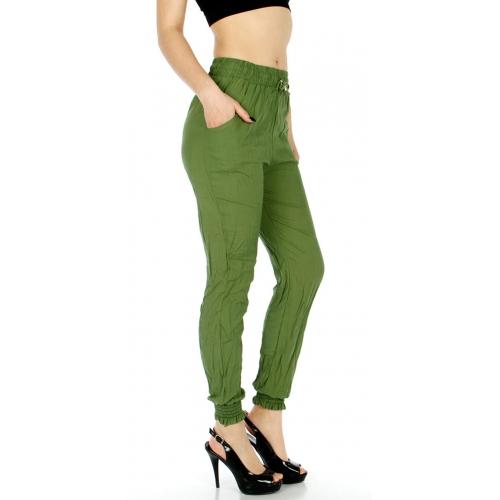 Wholesale P02 Solid jogger pants Black